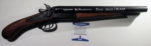 WOW!!! Val Kilmer TOMBSTONE Signed Replica 1881 STREET HOWITZER Doc Holliday BAS