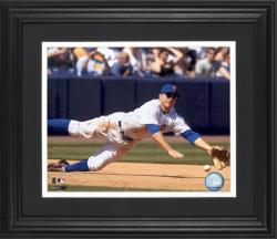 "David Wright New York Mets Framed Unsigned 8"" x 10"" Photograph - Mounted Memories"