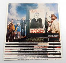 "Wrong Is Right 11"" x 14"" Movie Lobby Card Set of (8) ^ Sean Connery"