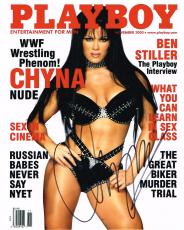 Wwe Wwf Tna Chyna Autographed 8x10 Photo Playboy Signed Autograph
