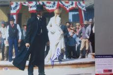 WYATT EARP!!! Kurt Russell Signed TOMBSTONE 11x14 Photo #5 PSA/DNA