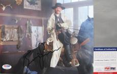 WYATT EARP!!! Kurt Russell TOMBSTONE Signed VENGEANCE 8x10 Photo #3 PSA/DNA