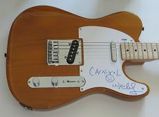 WYCLEF JEAN of the FUGEES Signed FENDER TELECASTER GUITAR Psa Dna