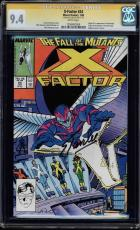 X-factor #24 Cgc 9.4 White Stan Lee Signed Origin & 1st App Archangel 1206482006