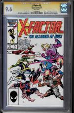 X-factor  #5 Cgc 9.6 Ss Sig Series Stan Lee 1st App. Of Appocalypse #1206496012