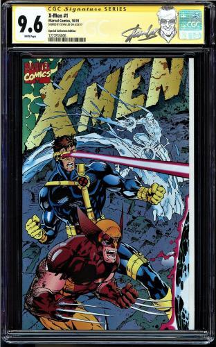 X-men #1 Cgc 9.6 White Ss Stan Lee Special Collectors Ed Cgc #1227816006