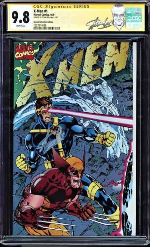 X-men #1 Cgc 9.8 White Ss Stan Lee Special Collectors Ed Cgc #1227814006