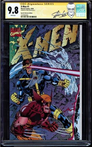 X-men #1 Cgc 9.8 White Ss Stan Lee Special Collectors Ed Cgc #1227816002
