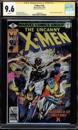 X-men # 126 Cgc 9.6 White Ss Stan Lee Signed Proteus Mastermind App #1508462018