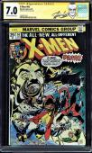 X-men #94 Cgc 7.0 Oww Ss Stan Lee Signed New X-men Begin Cgc #1508477010