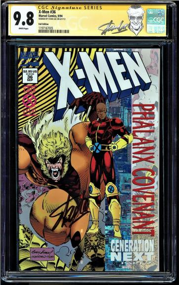 X-men Annual 16 Cgc 9.8 White Ss Stan Lee Signed Highest Graded Cgc #1206496009