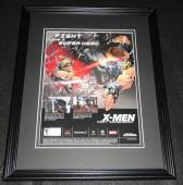 X Men Next Dimension 2002 PS2 XBox Framed 11x14 ORIGINAL Vintage Advertisement