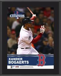 Xander Bogaerts Boston Red Sox 2013 MLB World Series Champions 10'' x 13'' Sublimated Player Plaque - Mounted Memories