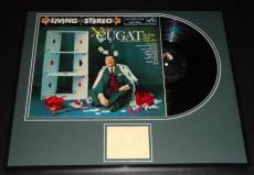 Xavier Cugat Signed Framed 1958 The King Plays Some Aces Record Album Display
