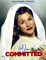 "Yael Stone Autographed 11"" x 14"" Orange Is The New Black - Committed Photograph - Beckett COA"