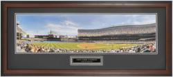 "New York Yankees ""The Stadium"" Framed Unsigned Panoramic Photograph with Suede Matte - Mounted Memories"