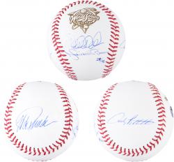 Derek Jeter, Mariano Rivera, Jorge Posada, & Andy Pettitte New York Yankees Autographed 2000 World Series Baseball