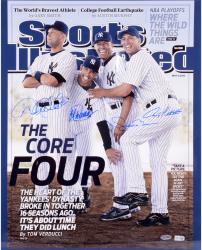 Derek Jeter, Mariano Rivera, Jorge Posada, and Andy Pettitte New York Yankees Autographed 16'' x 20'' Photograph
