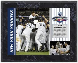 "New York Yankees 2009 World Series Champions 8"" x 10"" Plaque - Mounted Memories"