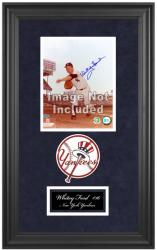 "New York Yankees Deluxe 8"" x 10"" Team Logo Frame - Mounted Memories"