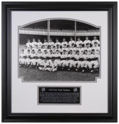 "New York Yankees 1956 Team Framed 16"" x 20"" Photograph with Descriptive Nameplate - Mounted Memories"