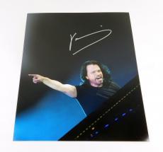 Yanni Signed 11 x 14  Color Photo Pose #5 Auto