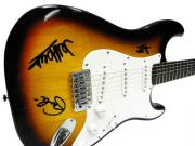 Yardbirds Autographed Facsimile Signed Fender Guitar Eric Clapton Jimmy Page J. Beck