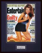 Yasmine Bleeth Signed Framed 1997 Entertainment Weekly Magazine Display JSA