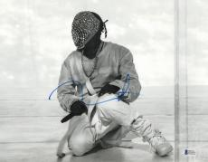 Yeezus Kanye West Signed 11x14 Photo Authentic Autograph Beckett Bas Coa 2