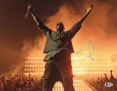 Yeezus Kanye West Signed 11x14 Photo Authentic Autograph Beckett Bas Coa