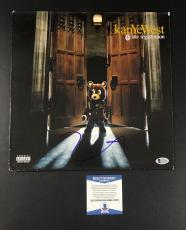 Yeezus Kanye West Signed Late Registration Vinyl Authentic Autograph Lp Beckett