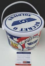 YES SIR!! R. Lee Ermey TOY STORY Signed UNOPENED Bucket Of Soldiers PSA/DNA