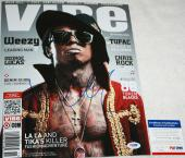 YMCMB LIL WAYNE signed 11 x 14, Carter IV, Sorry 4 the Wait, PROOF, PSA/DNA