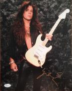 YNGWIE MALMSTEEN signed/autographed 11x14 photo JSA P02121