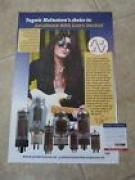 Yngwie Malmsteen12x18 Promo Tube Concert Signed Autographed PSA Guaranteed