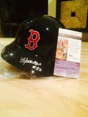 Yoan Moncada Signed Rawlings Full Size Authentic Boston Redsox Helmet Jsa Cert