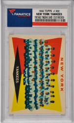 Yogi Berra / Micey Mantle / Roger Maris / Whitey Ford New York Yankees 1960 Topps #332 Card