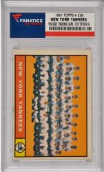 Yogi Berra / Micey Mantle / Roger Maris / Whitey Ford New York Yankees 1961 Topps #228 Card