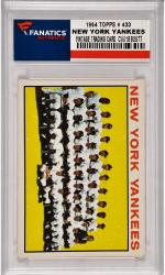 Yogi Berra / Micey Mantle / Roger Maris / Whitey Ford New York Yankees 1964 Topps #433 Card