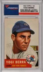 Yogi Berra New York Yankees 1953 Topps #104 Card