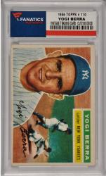 Yogi Berra New York Yankees 1956 Topps #110 Card