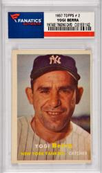 Yogi Berra New York Yankees 1957 Topps #2 Card