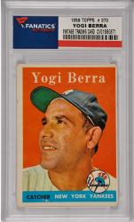 Yogi Berra New York Yankees 1958 Topps #370 Card