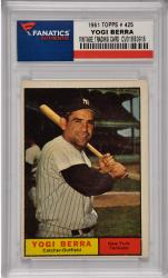 Yogi Berra New York Yankees 1961 Topps #425 Card 2