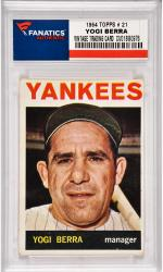 Yogi Berra New York Yankees 1964 Topps #12 Card