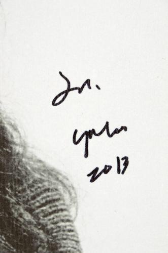 """Yoko Ono Autographed 16""""x 20"""" Jars Stretched Canvas - BAS COA"""