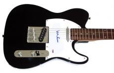 Yoko Ono Autographed Signed Tele Guitar John Lennon PSA DNA