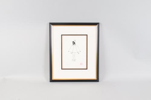Yoko Ono Signed Print John Lennon Art Serigraph Sherlock Lennon – COA JSA