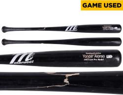 Yonder Alonso San Diego Padres 6/1/4 vs. Chicago White Sox Game-Used Broken Bat