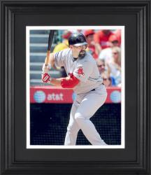 "Kevin Youkilis Boston Red Sox Framed Unsigned 8"" x 10"" Photograph - Mounted Memories"